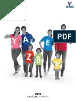 Catalogo Yazbek 2019