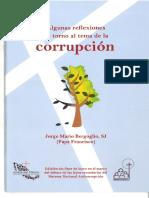 Jorge Bergoglio, Corrupcion
