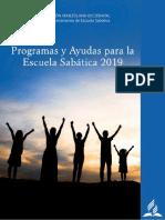 Programas de Escuela Sabática 2019 Iglesia Adventista