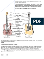 Beginner Guitar Lesson 1 _ Familiarize Yourself With the Guitar. - 8notes