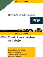 03 Tecnicas de Operacion