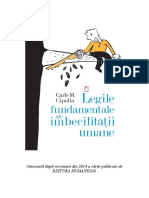 Carlo Cipolla - Legile Imbecilitatii Umane