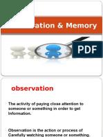 Observation & Memory .pptx