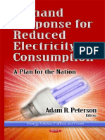 Demand Response for Reduced Electric Consumption a Plan for the Nation