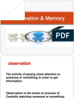 Techniques to improve Observation & Memory .pptx