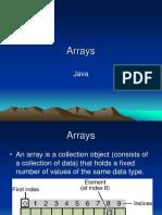 08 -- Arrays
