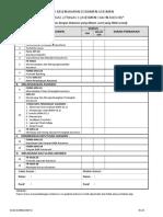 Ceklist Kelengkapan Dokumen LSP