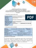 Guia Paso 2. Proponer El Proyecto y Aplicar La Gestión de Los Interesados Al Proyecto