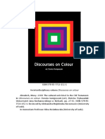 Mony Almalech. Discources on Colour 2018. ISBN 978-83-7726-152-1