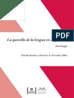 Alfon Querella de La Lengua Antología-páginas Seleccionadas