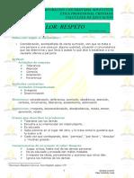 Ficha Sobre Valores Prudencia