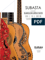 Catalogo Guitarras Octubre 2018
