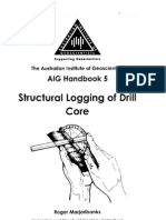 Structural Logging of Drill Core