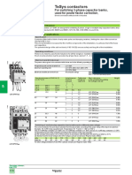 Tesys contactors for switching 3 phase capacitor banks.pdf