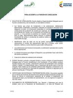 Requisitos Para Acceder a La Funcion de Conciliación
