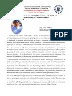 La Docencia en La Educación Peruana