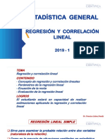 13. Regresión y Correlación Lineal