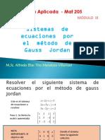 M33 Sistemas de Ecuaciones