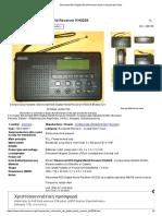 Silvercrest RDS Digital World Receiver Radio Kompernass Hand