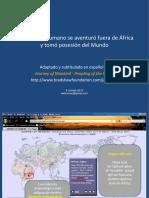Cómo El Ser Humano Se Aventuró Fuera de África