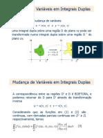 Integral Dupla e Tripla - Em Coordenadas Polares