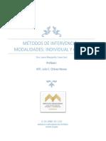 M4.4.3.1 Laura M. Casas East Métodos de Intervención