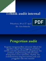 3.Tehnik Audit Internal