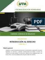 Modulo II Introduccion Al Derecho