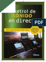 INDICE CTRL SONIDO DIRECTO