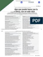 372 Trámites Que Puede Hacer Con La Clave Única Con Un Solo Click - Www.lun.Com