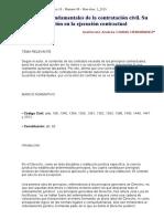 Principios Fundamentales de La Contratación Civil. Su Función en La Ejecución Contractual