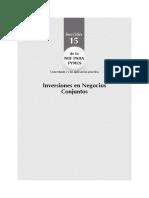 Niff Pyme - Inversiones en Negocios Conjuntos
