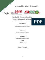 Informe Sistema de Comunicacion 2 Parcial
