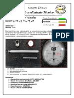 C175-16 & C175-20 Engines _ Regulación de Luz de Válvulas _ Procedimiento Técnico _ 21-08-2012 _ Finning _ CATERPILLAR®