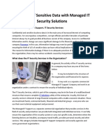 23-Protected of Sensitive Data With Managed IT Security Solutions