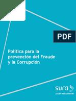 Sura Politica Antifraude y Anticorrupcion de Sura Am Vf