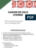 Cancer de Colo Uterino