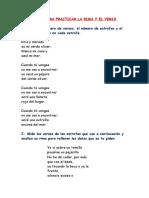 Ejercicios de La Forma Del Poema (6)