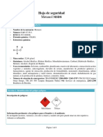 Ficha Tecnica Metanol