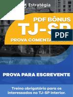 Prova Tj-sp 2017 Resolvida e Comentada Estratégia