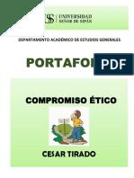 7. Carátula Portafolio y Separadores