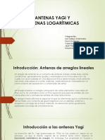 Diseño de Antena YAGI Y LOGARITMICA.pptx