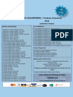 Cardápio FITNESS 2018 EC GULOSEIMAS.