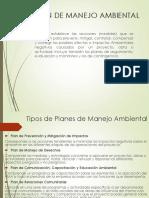 Plan de Manejo Ambiental (Estructura y elaboración)