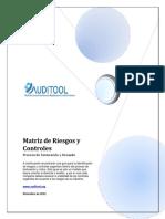 Matriz de Riesgos y Controles en El Proceso de Facturaciòn y Cobro