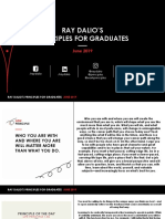 Ray Dalio's Principles for Graduates