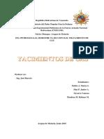 Informe Yacimientos de Gas Ing Petroleo Semestre Vi
