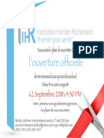 Invitations Officielle