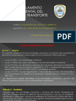 REGLAMENTO AMBIENTAL TRANSPORTES