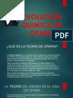 Evolución Quimica de Oparin